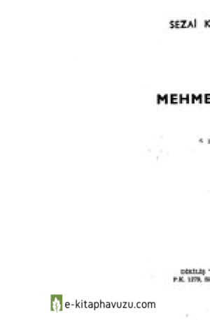 Sezai Karakoç - Mehmed Akif