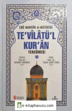 Te'vîlâtü'l-Kur'ân Tercümesi - 10