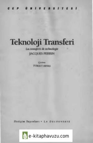 Teknoloji Transferi - Jacques Perrin