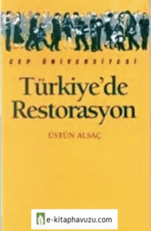 Türkiye'de Restorasyon - Üstün Alsaç - İletişim