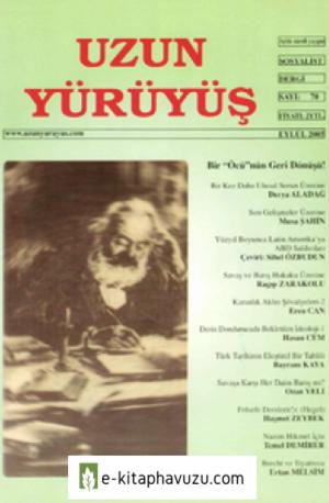 Uzun Yürüyüş Dergisi - Sayı 70 - Eylül 2005