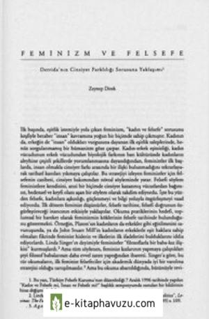 Zeynep Direk - Feminizm Ve Felsefe